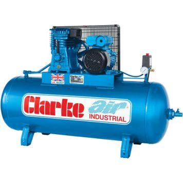 Clarke Clarke XE15/150 (WIS) 14cfm 150Litre 3HP Industrial Air Compressor (400V)
