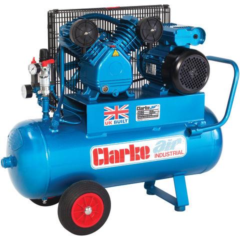 Clarke Clarke XEPV16/50 (OL) 14cfm 50Litre 3HP Portable Industrial Air Compressor (110V)