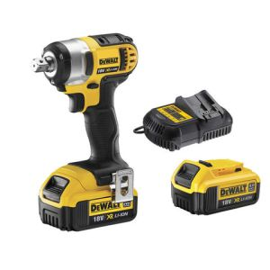 DeWalt DeWalt DCF880M2 18V XR Compact Impact Wrench with 2 x 4.0Ah Li-Ion Batteries