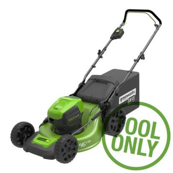 Greenworks Greenworks GD60LM46HP 60V 46cm Mower (Bare Unit)