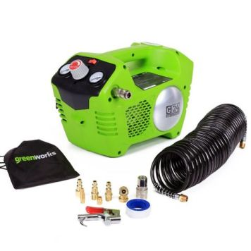 Greenworks Greenworks GWG24AC 24V Air Compressor (Bare Unit)