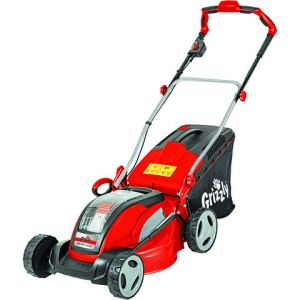 Grizzly Grizzly ARM4041 Cordless 41cm Lawn Mower with 2 x Battery & Charger (40V)
