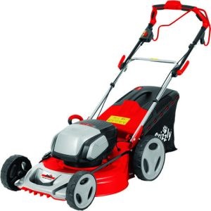 Grizzly Grizzly ARM4051 Cordless 51cm Lawn Mower with 3 x Battery & Charger (40V)
