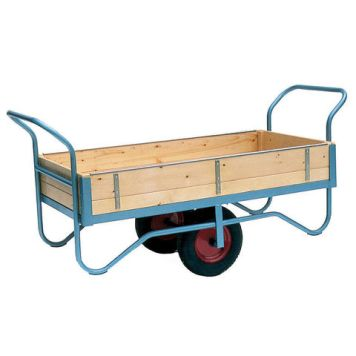 Machine Mart Xtra Barton Storage BT/9122/CT/RB Double Handle Four Sided Trolley With Rubber Wheels