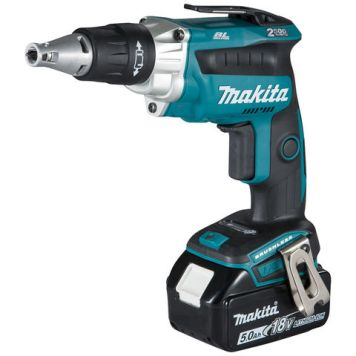 Makita Makita DFS250RTJ 18V LXT BL Brushless Screwdriver with 2 x 5Ah Batteries