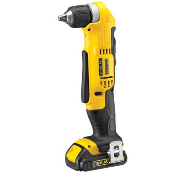 Power Tools Price Cuts DeWalt DCD740C1 - 18V XR Li-Ion 2-Speed Angle Drill with 1.5Ah Battery