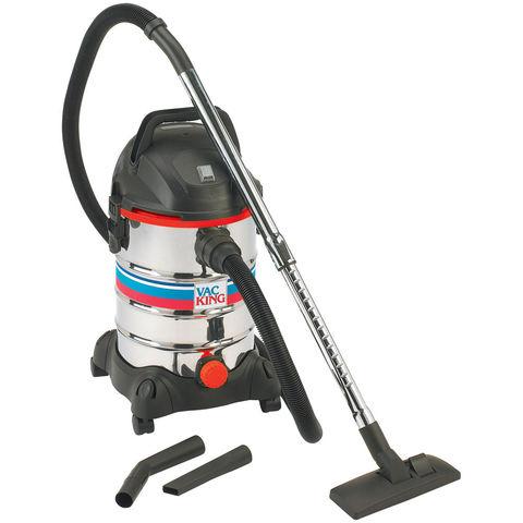 Price Cuts Vac King CVAC25SS Wet & Dry Vacuum Cleaner (230V)