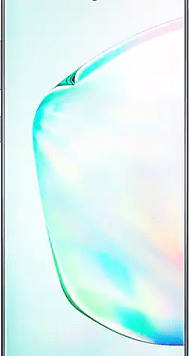 Samsung Galaxy Note10 Plus (256GB Aura Glow) at £349.00 on Red (24 Month(s) contract) with UNLIMITED mins; UNLIMITED texts; 6000MB of 5G data. £30.00 a month.
