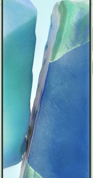 Samsung Galaxy Note20 5G (256GB Mystic Green) at £29.00 on Unlimited (24 Month(s) contract) with UNLIMITED mins; UNLIMITED texts; UNLIMITEDMB of 5G data. £62.00 a month.