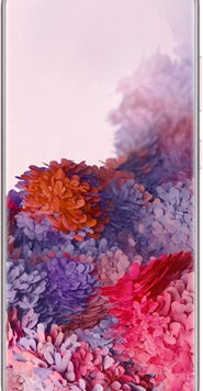 Samsung Galaxy S20 5G (128GB Pink) at £29.00 on Unlimited with Entertainment (24 Month(s) contract) with UNLIMITED mins; UNLIMITED texts; UNLIMITEDMB of 5G data. £73.00 a month.