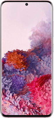 Samsung Galaxy S20 5G (128GB Pink) at £99.00 on Red with Entertainment (24 Month(s) contract) with UNLIMITED mins; UNLIMITED texts; 48000MB of 5G data. £65.00 a month.