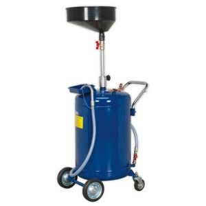 Sealey Sealey AK458DX Mobile Oil Drainer 110L Air Discharge