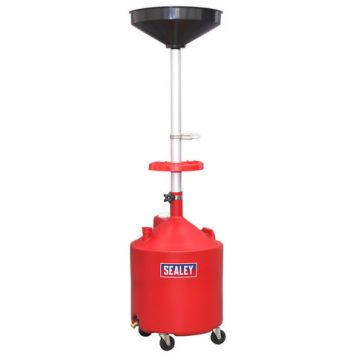 Sealey Sealey AK80D Mobile Oil Drainer 80L Manual Discharge