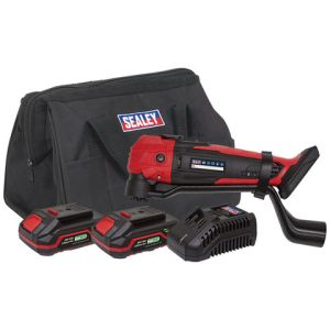 Sealey Sealey CP20VMTKIT Cordless Oscillating Multi-Tool Kit 20V - (2 Batteries, Charger & Bag)