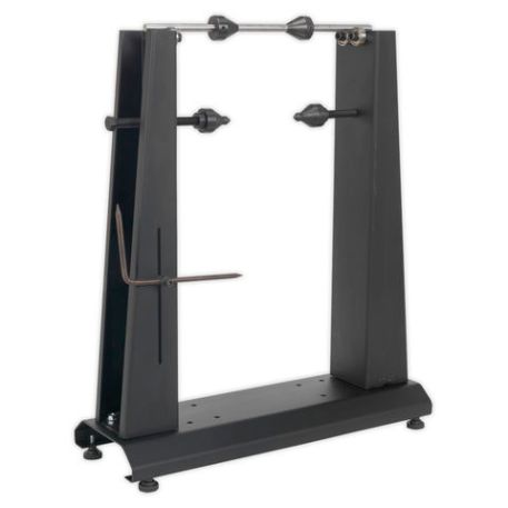 Sealey Sealey WTS01 Motorcycle & Bicycle Wheel Balancer & Truing Stand