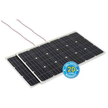 Solar Technology International PV Logic 120Wp Flexi Solar Panels (2 Pack)