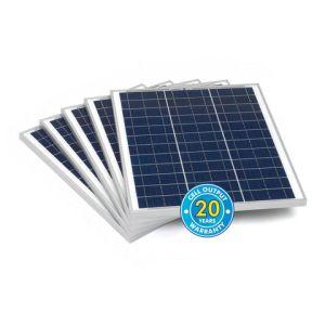Solar Technology International PV Logic 45Wp Bulk Packed Solar Panels (5 Pack)