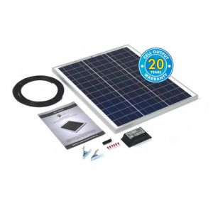 Solar Technology International PV Logic 45Wp Solar Panel Kit & 10Ah Charge Controller