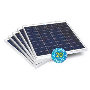 Solar Technology International PV Logic 60Wp Bulk Packed Solar Panels (5 Pack)