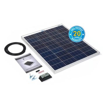 Solar Technology International PV Logic 80Wp Solar Panel Kit & 10Ah Charge Controller
