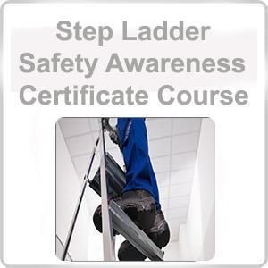 Step Ladder Safety Awareness Certificate Course