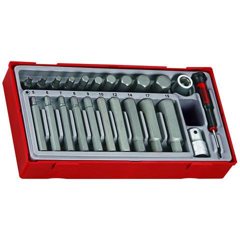 Teng Teng TTHEX23 23 Piece Hex Bit Socket Set