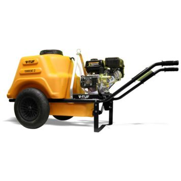 V-TUF V-TUF Torrent 2 - 7HP 190Bar Petrol Pressure Washer Bowser (150 Litre Tank)