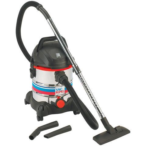 Vac King Vac King CVAC20SS Wet & Dry Vacuum Cleaner (230V)