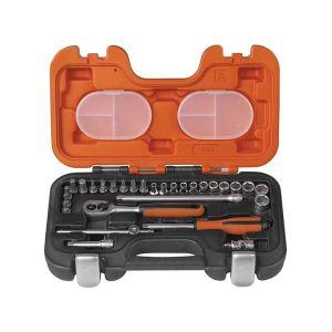 Bahco S290 Socket Set of 29 Metric 1/4in Drive
