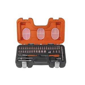 Bahco S460 Socket Set of 46 Metric 1/4in Drive