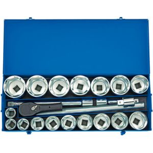 Draper Draper MC22M/B 1'' Drive 22 Piece Metric Socket Set