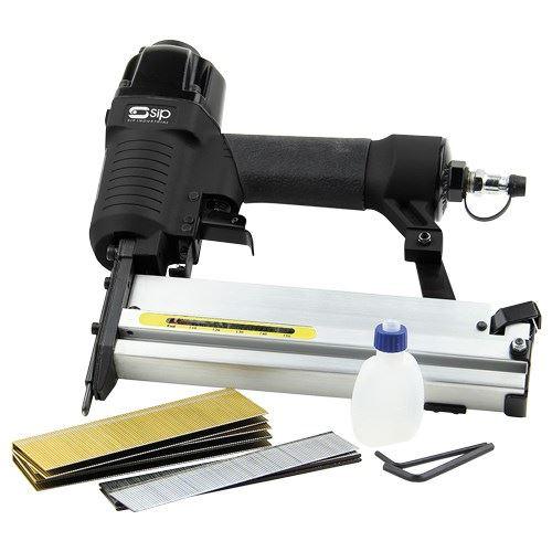 SIP 06771 2-in-1 Air Nailer & Stapler Kit