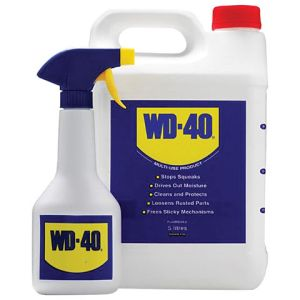 WD40 WD-40 5 Litre With Spray Applicator