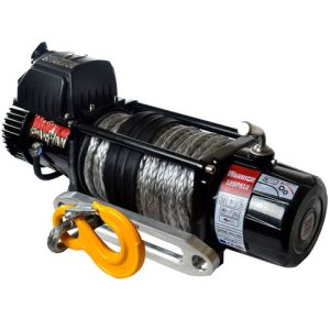 Warrior Warrior Spartan 5443kg 12V DC Synthetic Rope Winch