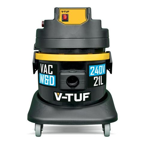 V-TUF V-TUF 1400W 21L Heavy Industrial Wet & Dry Vacuum Cleaner - 21 Litre Tank (230V)