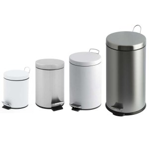 30 Litre Stainless Steel Pedal Bin with Plastic Liner