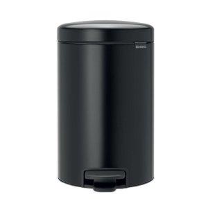 Brabantia Soft Close Steel Pedal Bin - 20L - Black