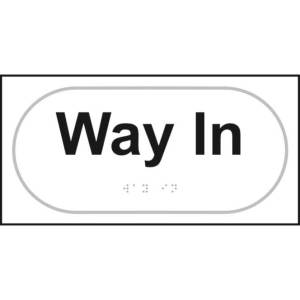 Braille Way In Sign