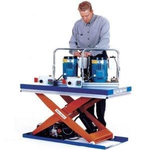 Budget Scissor Lift Tables 1,000kg cap 800w x 1200 long