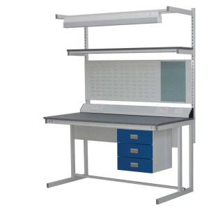 Cantilever Workbench - Laminate top - 1500w x 750d