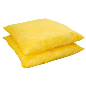 Chemical Absorbent Spill Pillow, pack of 20, 300mm x 350mm