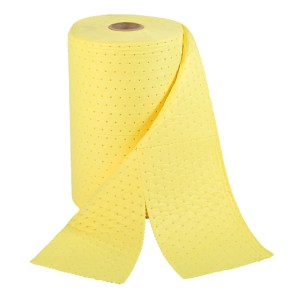 Chemical Spill Absorbent Rolls, 380mm x 15m Perforated
