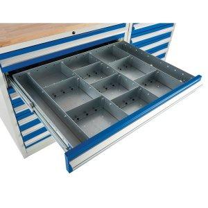 Drawer Dividers for Euroslide 900 Cabinets, ESDINSERT92D