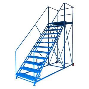 Easy Slope 11 Safety Steps 559mm wide treads 2375mm high platform