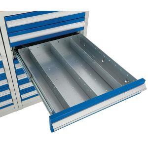 Euroslide 600 Cabinet Drawer Dividers - 6 compartments - 150mm high