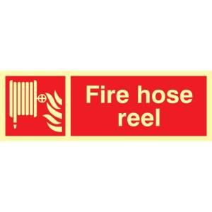 Fire Hose Reel Sign - PHS (300 x 100mm)