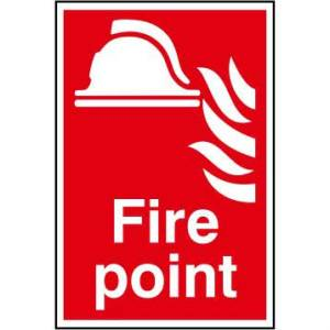 Fire point - Sign - PVC (200 x 300mm)