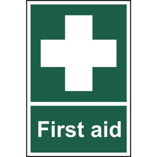 First aid - Sign - PVC (200 x 300mm)