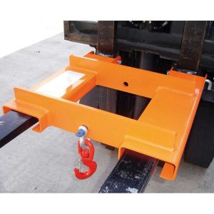 Fork Mounted Lifting Hook 4000kg capacity