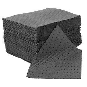 General Purpose Absorbent Spill Pads - Pack 25 with Dispenser
